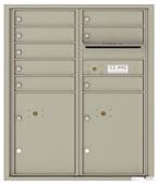 Florence 4C Mailboxes 4CADD-08 Postal Grey