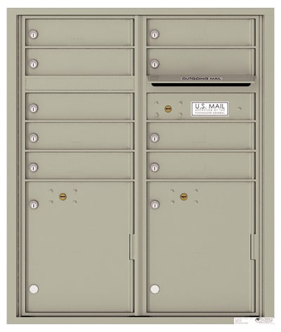 4CADD09 4C Horizontal Commercial Mailboxes