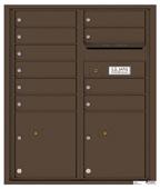 Florence 4C Mailboxes 4CADD-10 Antique Bronze