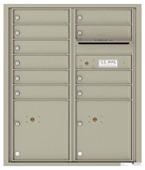 Florence 4C Mailboxes 4CADD-10 Postal Grey