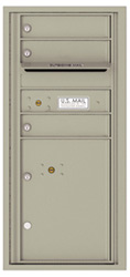 Florence 4C Mailboxes 4CADS-03 Postal Grey