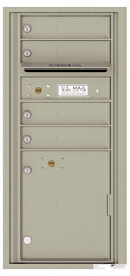 Florence 4C Mailboxes 4CADS-04 Postal Grey