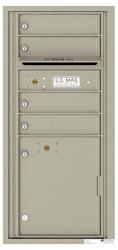 Florence 4C Mailboxes 4CADS-04 Postal Grey
