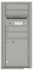 Florence 4C Mailboxes 4CADS-04 Silver Speck