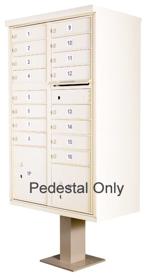 Replacement Pedestal for 13-16 Door CBU Cluster Box Units Product Image