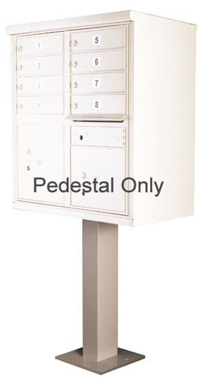 Pedestal for 8-12 Door CBU Cluster Box Units – 91129 Product Image