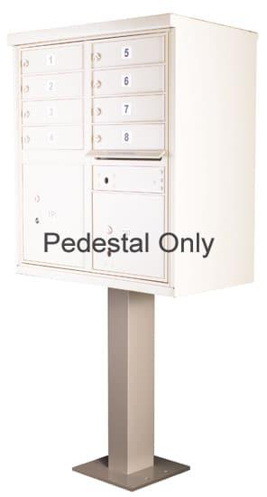 Pedestal for 8-12 Door CBU Cluster Box Units – 91129 Product Image