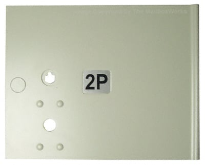 Replacement Small Parcel Mailbox Door for CBU Cluster Box Unit – K91250SP Product Image