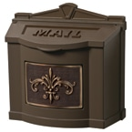 Gaines FleurDeLis Wall Mount Anitque Bronze