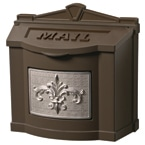 Gaines FleurDeLis Wall Mount Bronze Nickel