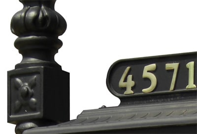 Imperial 188 Mailbox System Close Up