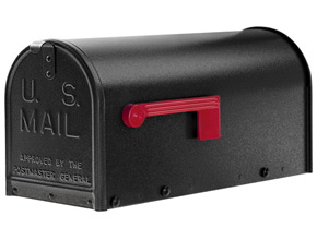 Janzer Mailboxes Textured Black