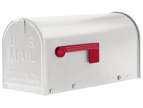 Janzer Mailboxes Textured White