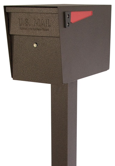 Mail Boss Locking Mailbox with Post Package Product Image