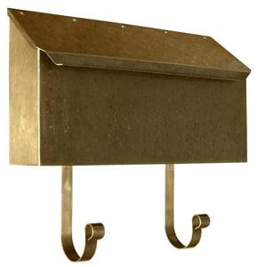 QualArc Provincial Horizontal Antique Hammered Brass