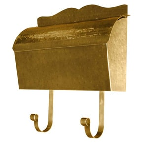QualArc Provincial Roll Top Hammered Brass