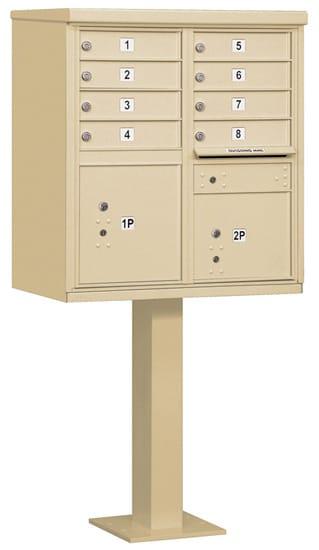 Salsbury 8 Door Cluster Mailbox 3308 Product Image