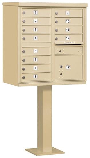 Salsbury 12 Door Cluster Mailbox 3312 Product Image