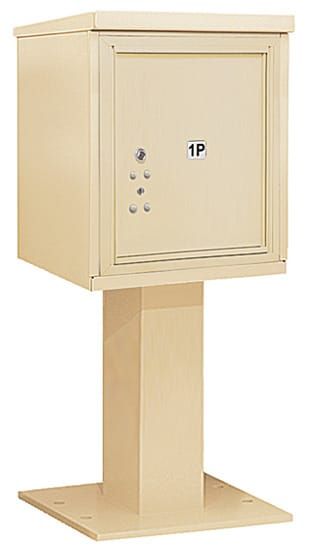 3405S-1P Salsbury 4C Pedestal Mailboxes Product Image