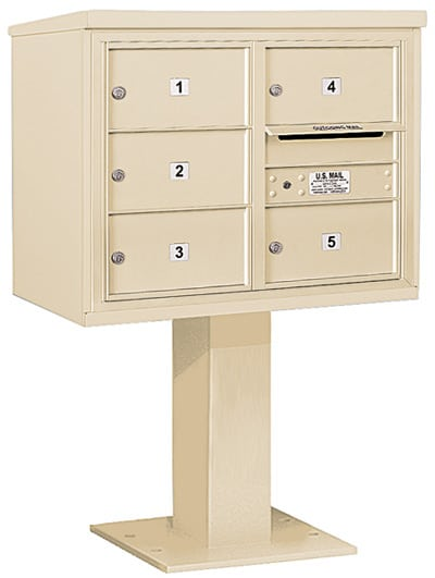 3406D-05 Salsbury 4C Pedestal Mailboxes Product Image