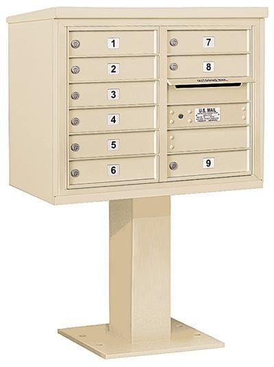 3406D-09 Salsbury 4C Pedestal Mailboxes Product Image