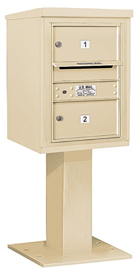 3406S-02 Salsbury 4C Pedestal Mailboxes Product Image