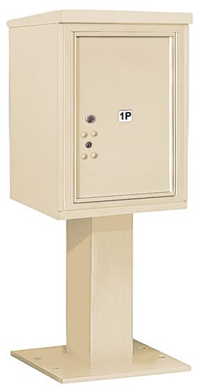 3406S-1P Salsbury 4C Pedestal Mailboxes Product Image