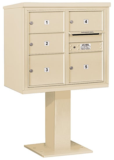 3407D-05 Salsbury 4C Pedestal Mailboxes Product Image