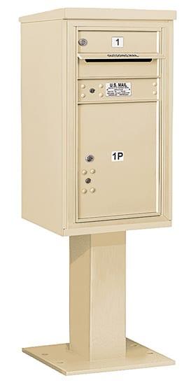 3408S01 Salsbury Commercial 4C Pedestal Mailboxes