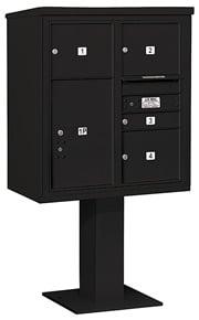 Salsbury 4C Pedestal 3409D-04 Black