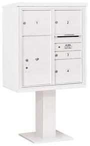 Salsbury 4C Pedestal 3409D-04 White