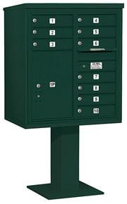 Salsbury 4C Pedestal 3409D-10 Green