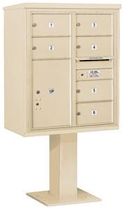 Salsbury 4C Pedestal 3410D-06 Sandstone