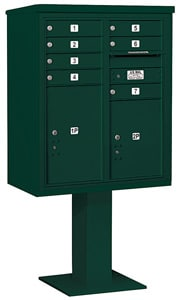 Salsbury 4C Pedestal 3410D-07 Green