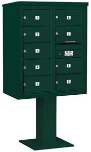Salsbury 4C Pedestal 3410D-09 Green