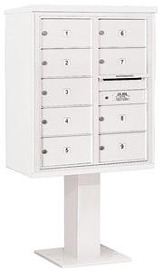Salsbury 4C Pedestal 3410D-09 White
