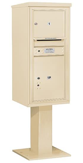 3410S01 Salsbury Commercial 4C Pedestal Mailboxes