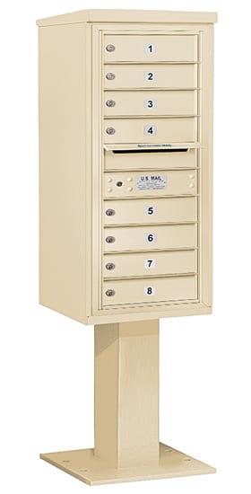 3410S08 Salsbury Commercial 4C Pedestal Mailboxes