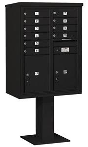 Salsbury 4C Pedestal 3411D-10 Black