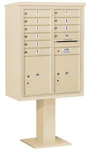 Salsbury 4C Pedestal 3411D-10 Sandstone