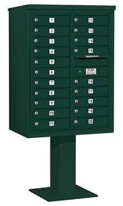 Salsbury 4C Pedestal 3411D-20 Green