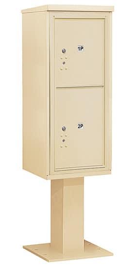 3411S2P Salsbury Commercial 4C Pedestal Mailboxes