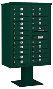 Salsbury 4C Pedestal 3412D-22 Green