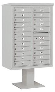 Salsbury 4C Pedestal 3412D-22 Gray