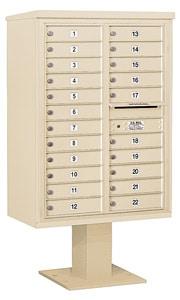 Salsbury 4C Pedestal 3412D-22 Sandstone
