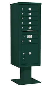 Salsbury 4C Pedestal 3413S-06 Green