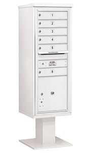 Salsbury 4C Pedestal 3413S-06 White