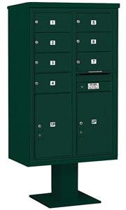 Salsbury 4C Pedestal 3414D-07 Green