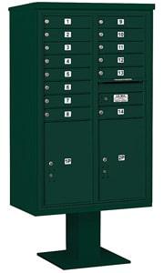 Salsbury 4C Pedestal 3414D-14 Green