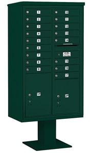 Salsbury 4C Pedestal 3415D-17 Green